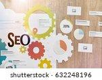 seo services concept for web...