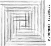 grid  mesh of straight parallel ... | Shutterstock .eps vector #632255132