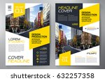 business brochure. flyer design.... | Shutterstock .eps vector #632257358