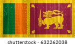 flag of sri lanka | Shutterstock . vector #632262038