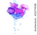 Colorful Abstract Watercolor...