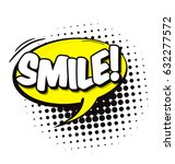 cartoon  comic speech bubble in ... | Shutterstock .eps vector #632277572