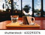 coffee cup in coffee shop. | Shutterstock . vector #632293376