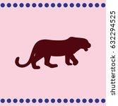 tiger logo | Shutterstock .eps vector #632294525