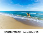 Horse Ride At The Beach In...