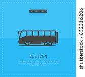 bus transportation design on... | Shutterstock .eps vector #632316206