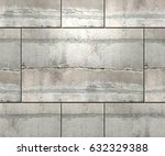 textured concrete blocks wall... | Shutterstock . vector #632329388