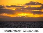 beautiful sunset | Shutterstock . vector #632364806