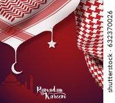 ramadan kareem islamic vector...   Shutterstock .eps vector #632370026