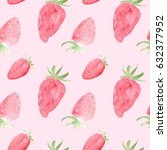 watercolor seamless pattern...   Shutterstock . vector #632377952