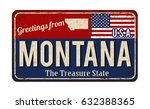 Greetings From Montana Vintage...