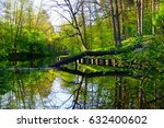 Spring Green Forest With...