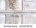 rusty metal texture background... | Shutterstock . vector #632429522