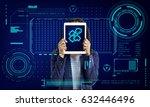 jigsaw puzzle teamwork... | Shutterstock . vector #632446496