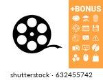 reel film symbol | Shutterstock .eps vector #632455742