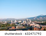 image of the skyline of reno ... | Shutterstock . vector #632471792