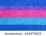colorful horizontal stripes... | Shutterstock . vector #632473025