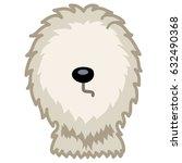 shaggy dog vector illustration | Shutterstock .eps vector #632490368