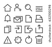 web icons | Shutterstock .eps vector #632500298
