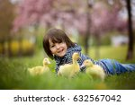 sweet child  boy  playing in... | Shutterstock . vector #632567042