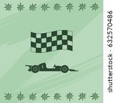race car icon. | Shutterstock .eps vector #632570486