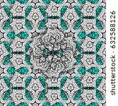 seamless classic white pattern. ... | Shutterstock . vector #632588126