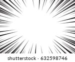 background of radial lines for... | Shutterstock .eps vector #632598746