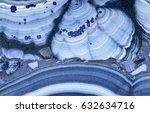 blue copper ore texture macro | Shutterstock . vector #632634716