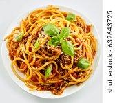 Rich Spicy Italian Spaghetti...