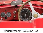 milan   april 25  dashboard of... | Shutterstock . vector #632665265