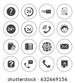 support icons | Shutterstock .eps vector #632669156