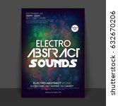 creative abstract flyer ... | Shutterstock .eps vector #632670206