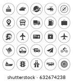 transport icons | Shutterstock .eps vector #632674238