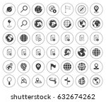 network icons | Shutterstock .eps vector #632674262