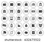 banking icons | Shutterstock .eps vector #632675522