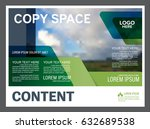 presentation layout design... | Shutterstock .eps vector #632689538