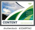 presentation layout design... | Shutterstock .eps vector #632689562