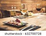 traditional restaurant... | Shutterstock . vector #632700728