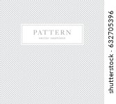 simple geometric seamless... | Shutterstock .eps vector #632705396