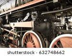 Steam Locomotive With Tender ....