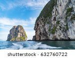 boat wake from high speed boat...   Shutterstock . vector #632760722