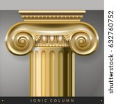 golden capital of the... | Shutterstock .eps vector #632760752