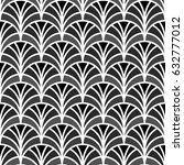 fish scale wallpaper. asian... | Shutterstock .eps vector #632777012