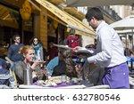 valencia  spain   february 20 ... | Shutterstock . vector #632780546
