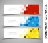 vector design banner background ... | Shutterstock .eps vector #632785316
