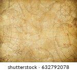 pirates treasure map background ... | Shutterstock . vector #632792078