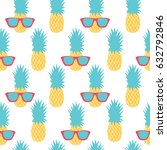 seamless pattern with... | Shutterstock .eps vector #632792846