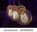 decorative antique style light... | Shutterstock . vector #632803052