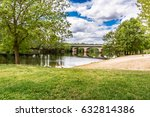 beach on the tera river in... | Shutterstock . vector #632814386
