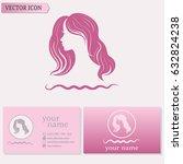 business cards design....   Shutterstock .eps vector #632824238